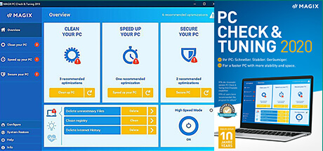 Magix PC Check and Tuning 2020 Key kaufen