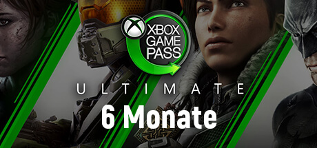 Xbox Game Pass Ultimate - 6 Monate kaufen