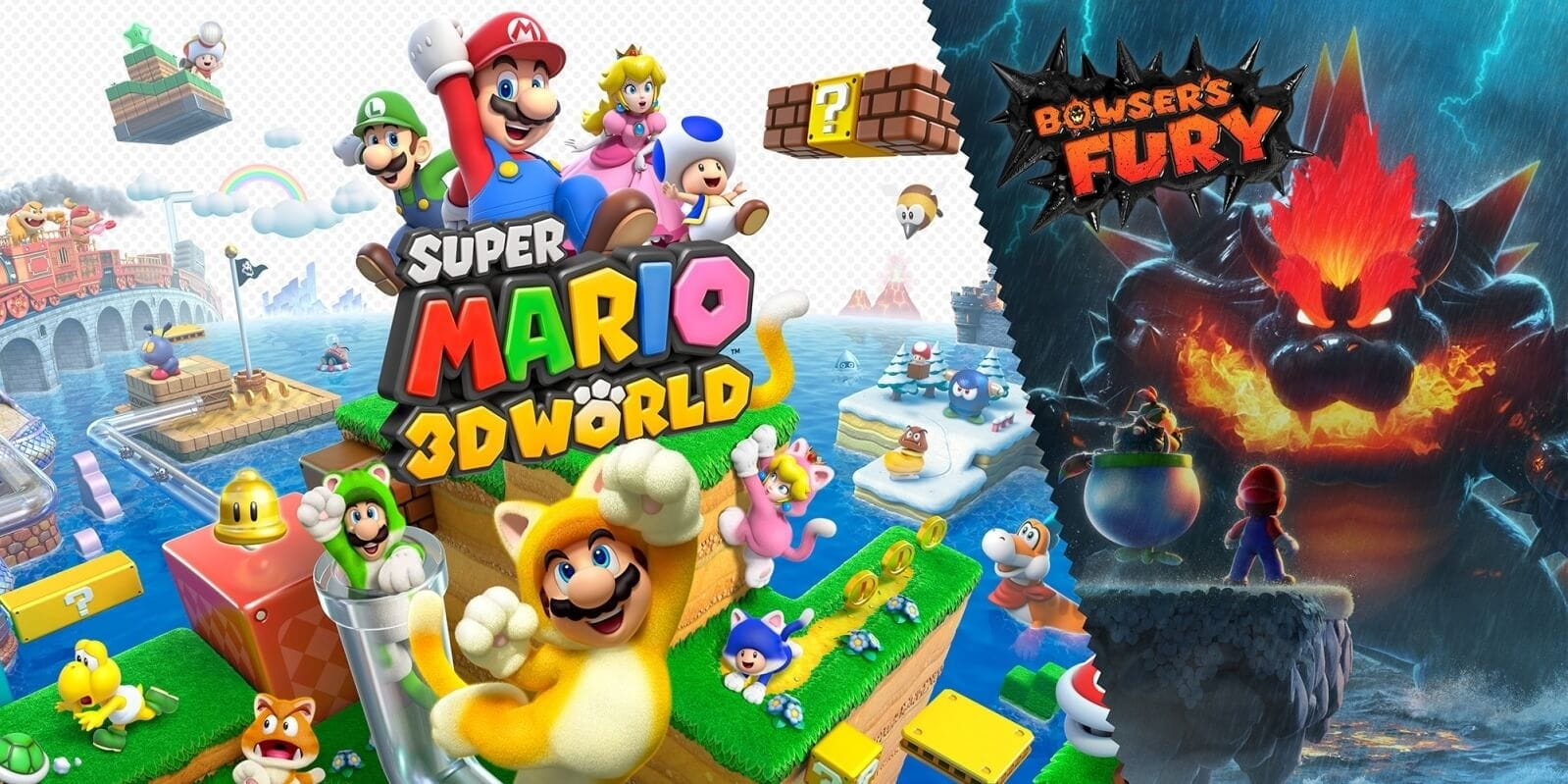 Super Mario 3D World + Bowser's Fury Nintendo Switch Code kaufen