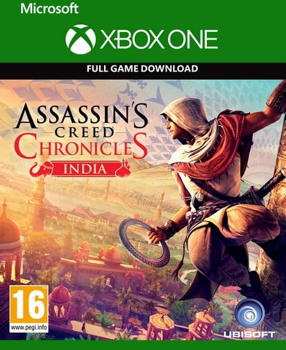 Assassin's Creed Chronicles India Xbox One Code kaufen