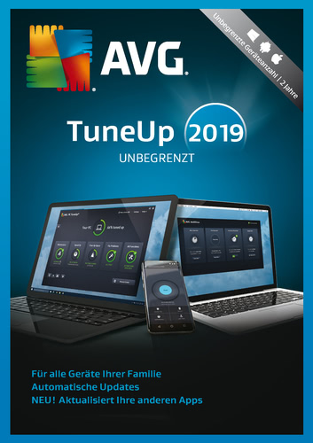 AVG PC TuneUp Unlimited 2019 Code kaufen
