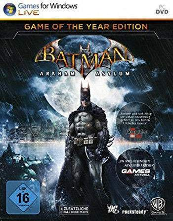 Batman Arkham Asylum GOTY Edition Key kaufen für Steam Download