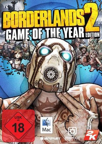Borderlands 2 - Game oft he Year Mac Key kaufen - MACOSX