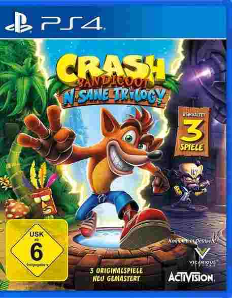 Crash Bandicoot The Nsane Trilogy PS4 Download Code kaufen