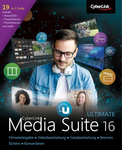 Cyberlink Media Suite 16 Ultimate Key kaufen