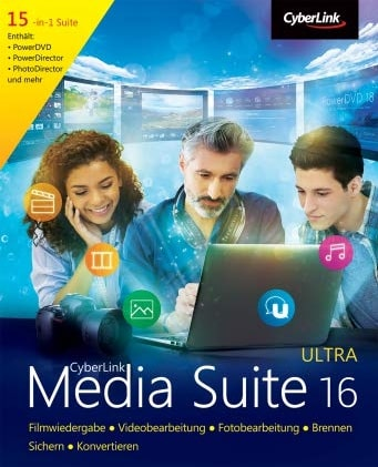 Cyberlink Media Suite 16 Ultra Key kaufen