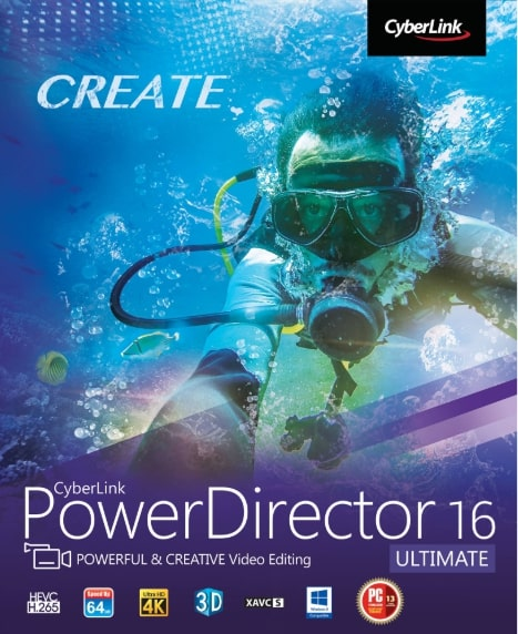 Cyberlink PowerDirector 16 Ultimate Key kaufen