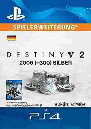 Destiny 2 [PS4] - 2000 + 300 Silver