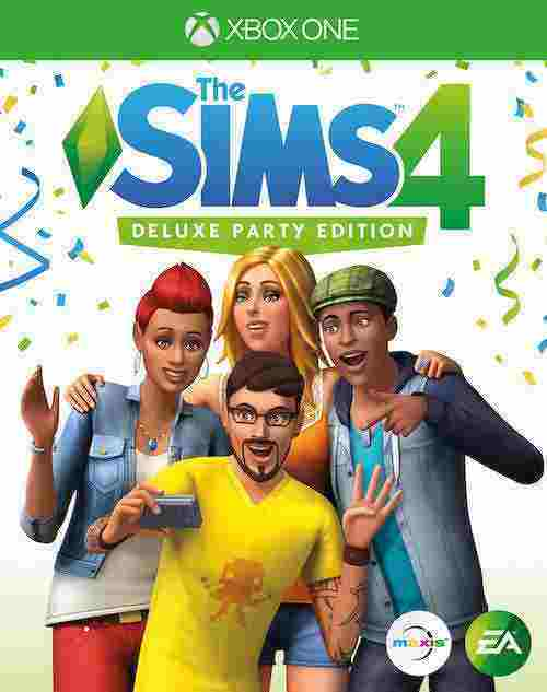 Die Sims 4 Deluxe Party Edition Xbox One Download Code kaufen