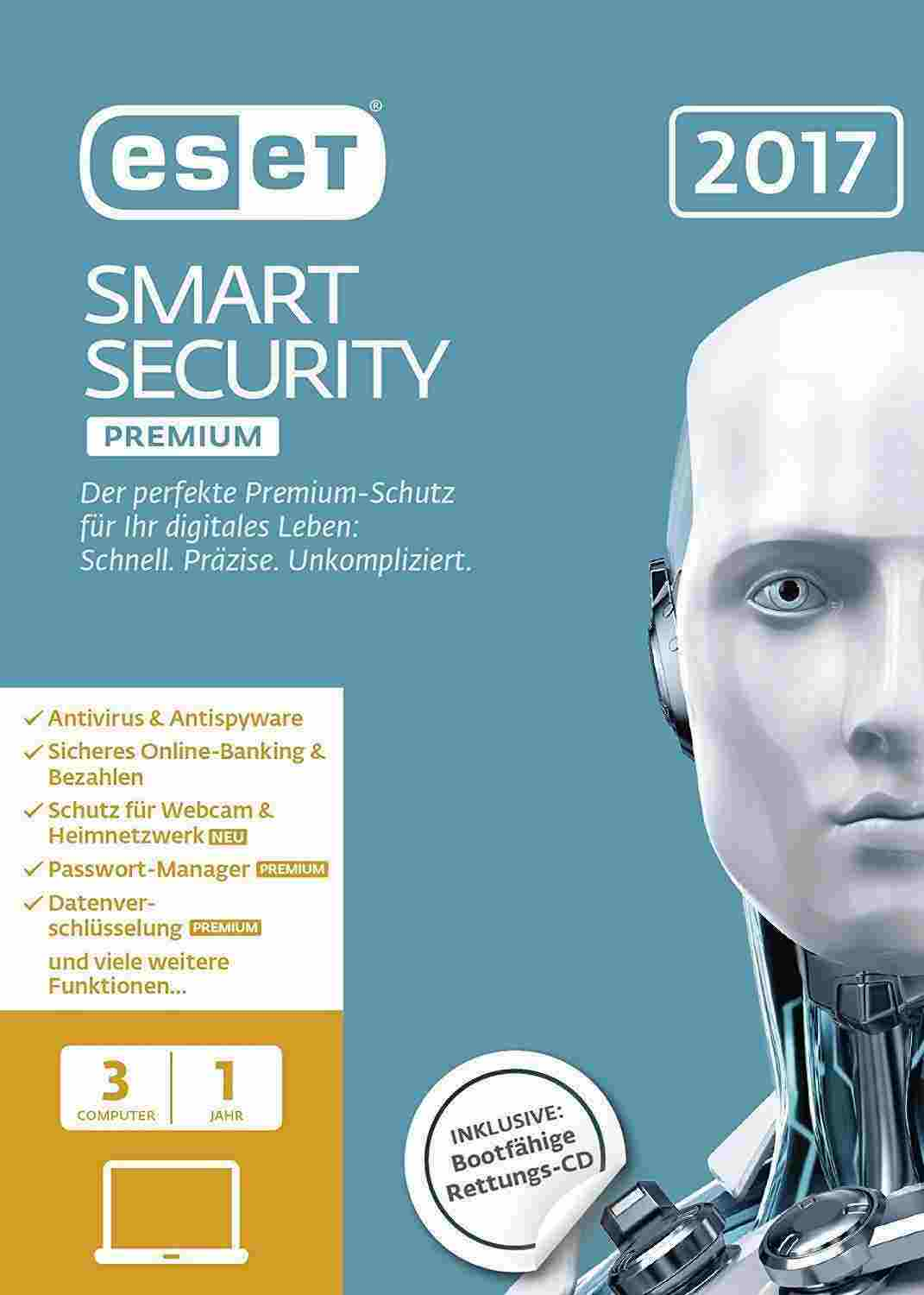 ESET Smart Security Premium 2017 Edition Download Code kaufen