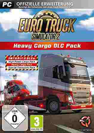 Euro Truck Simulator 2 - Heavy Cargo Pack DLC Key kaufen für Steam Download