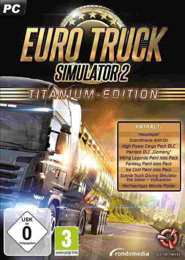 Euro Truck Simulator 2 Titanium Edition Key kaufen für Steam Download