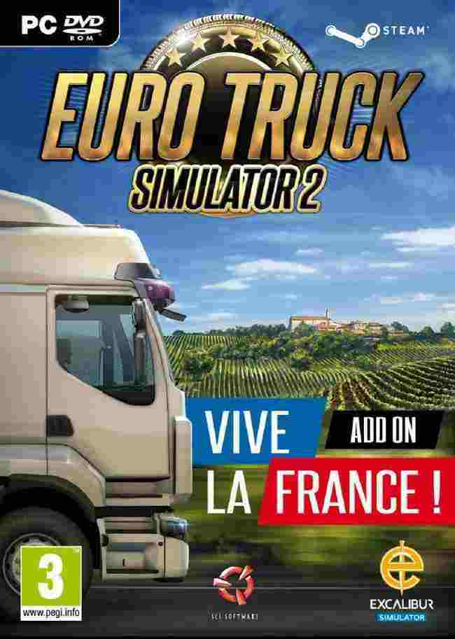 Euro Truck Simulator 2 - Vive la France DLC Key kaufen für Steam Download