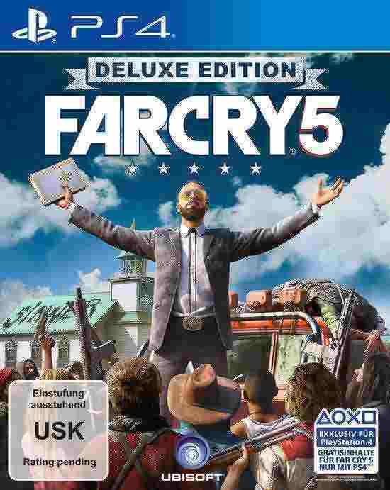 Far Cry 5 Deluxe Edition PS4 Download Code kaufen