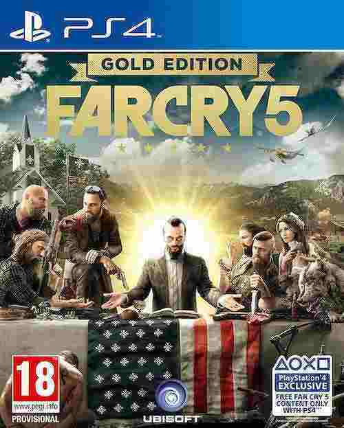 Far Cry 5 Gold Edition PS4 Download Code kaufen