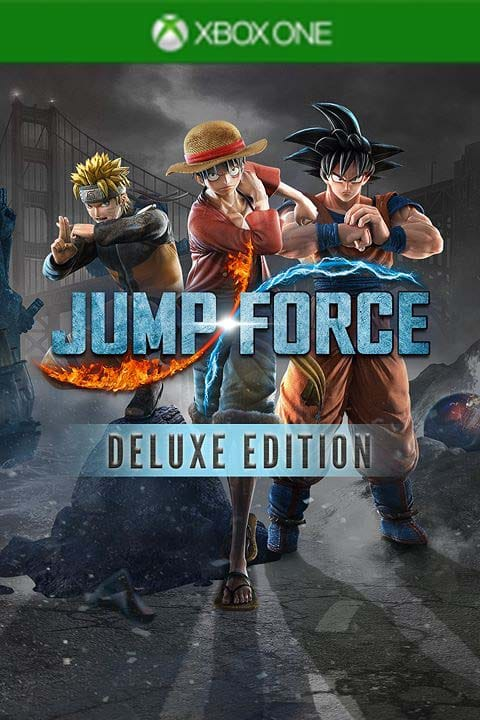 Jump Force Deluxe Edition Xbox One Code kaufen