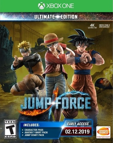 Jump Force Ultimate Edition Xbox One Code kaufen
