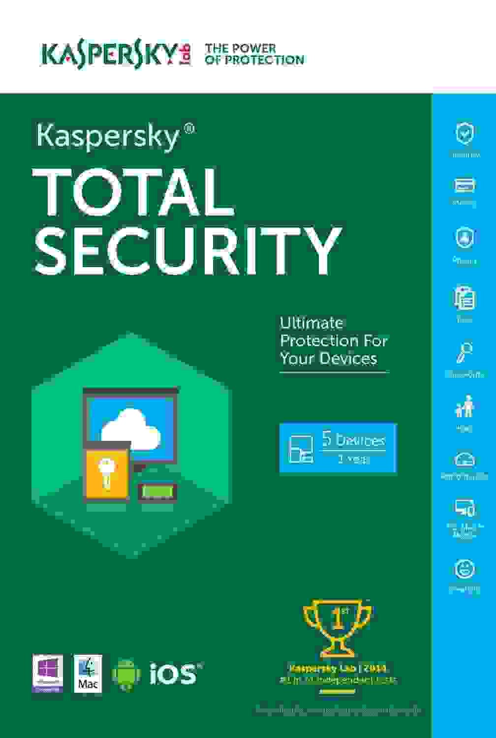Kaspersky Total Security 2017 Produkt Key kaufen