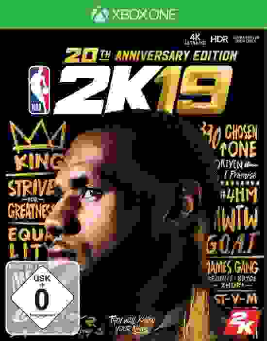 NBA 2K19 20th Anniversary Edition Xbox One Download Code kaufen