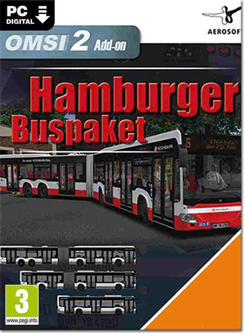 OMSI 2 - Der Omnibussimulator Hamburger Buspaket DLC Key kaufen für Steam Download