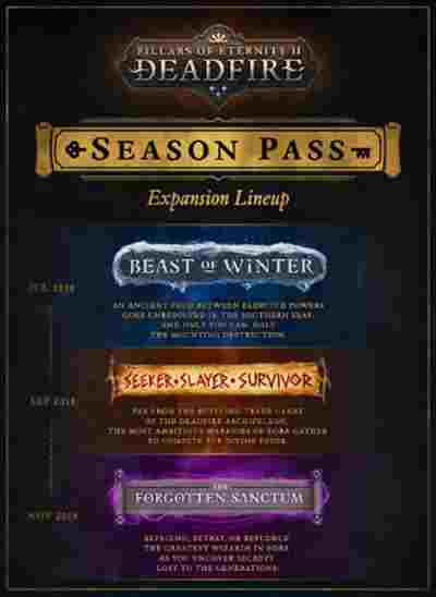 Pillars of Eternity 2 Deadfire Season Pass Key kaufen