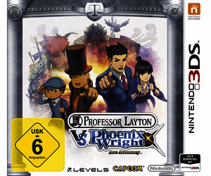 Professor Layton vs. Phoenix Wright - Ace Attorney kaufen für Nintendo 3DS