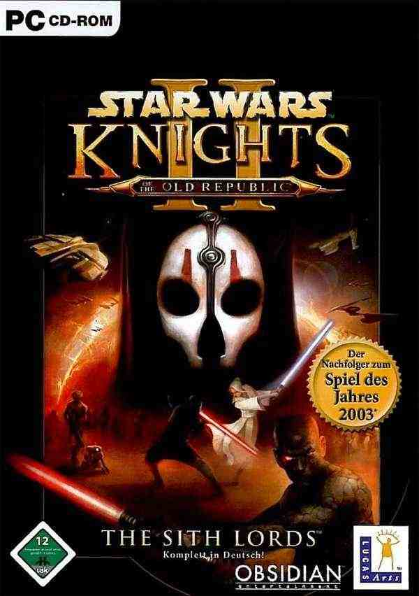 Star Wars Knights of the Old Republic 2 Key kaufen für Steam Download