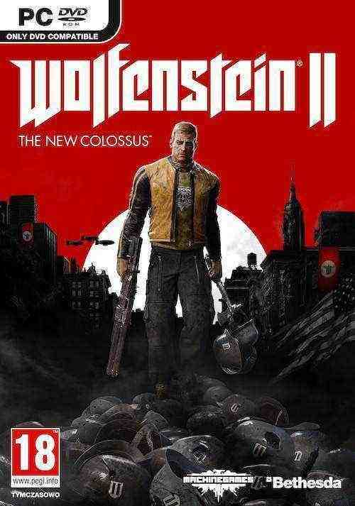 Wolfenstein 2 New Colossus Key kaufen (DE-Version)