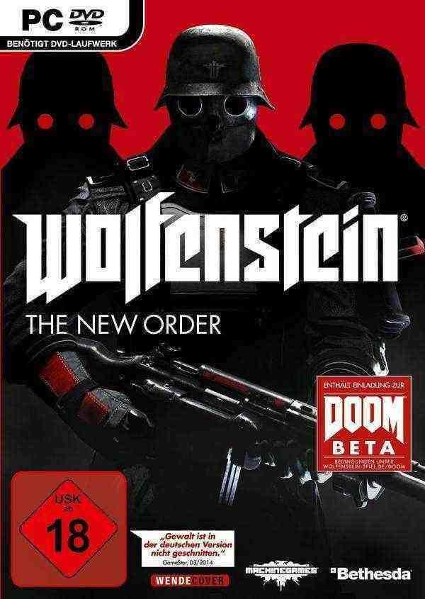 Wolfenstein - The New Order NON DE Version Key kaufen für Steam Download