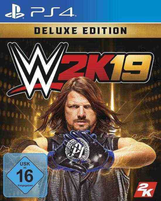 WWE 2K19 Deluxe Edition PS4 Download Code kaufen