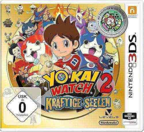 Yo-Kai Watch 2 Kräftige Seelen 3DS Download Code kaufen
