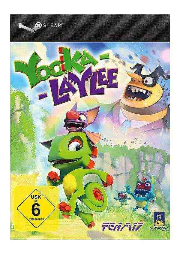 Yooka-Laylee Digital Deluxe Edition Key kaufen für Steam Download